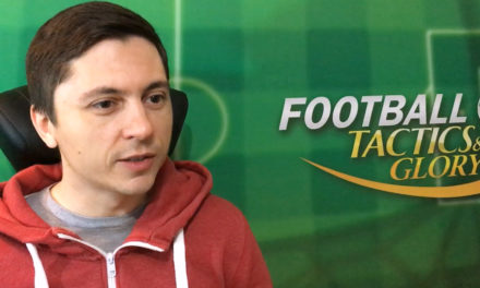 Видео о создании пошаговой механики Football, Tactics & Glory